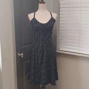 Vintage Betsey Johnson Screw Halter Dress